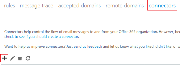 HOWTO - Create receive connector for Office 365 | ETRN